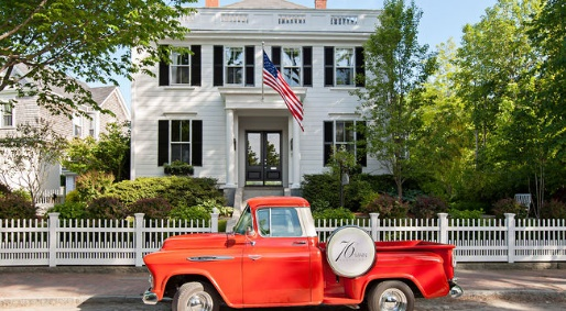 Staying at 76 Main Hotel on Nantucket Island