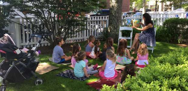 Story Time by Nantucket Book Festival writers
