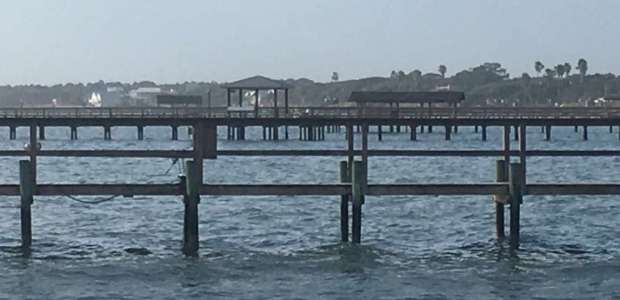 Fishing Docks in Corpus Christi Bay