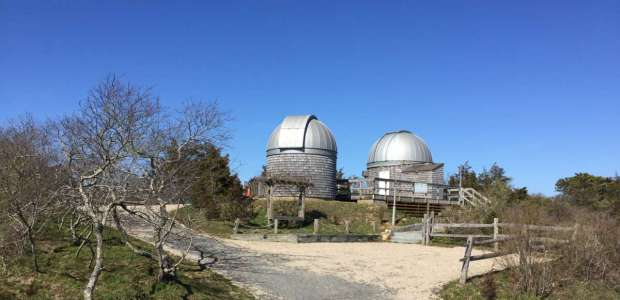 The Maria Mitchell Association's Loines Observatory.