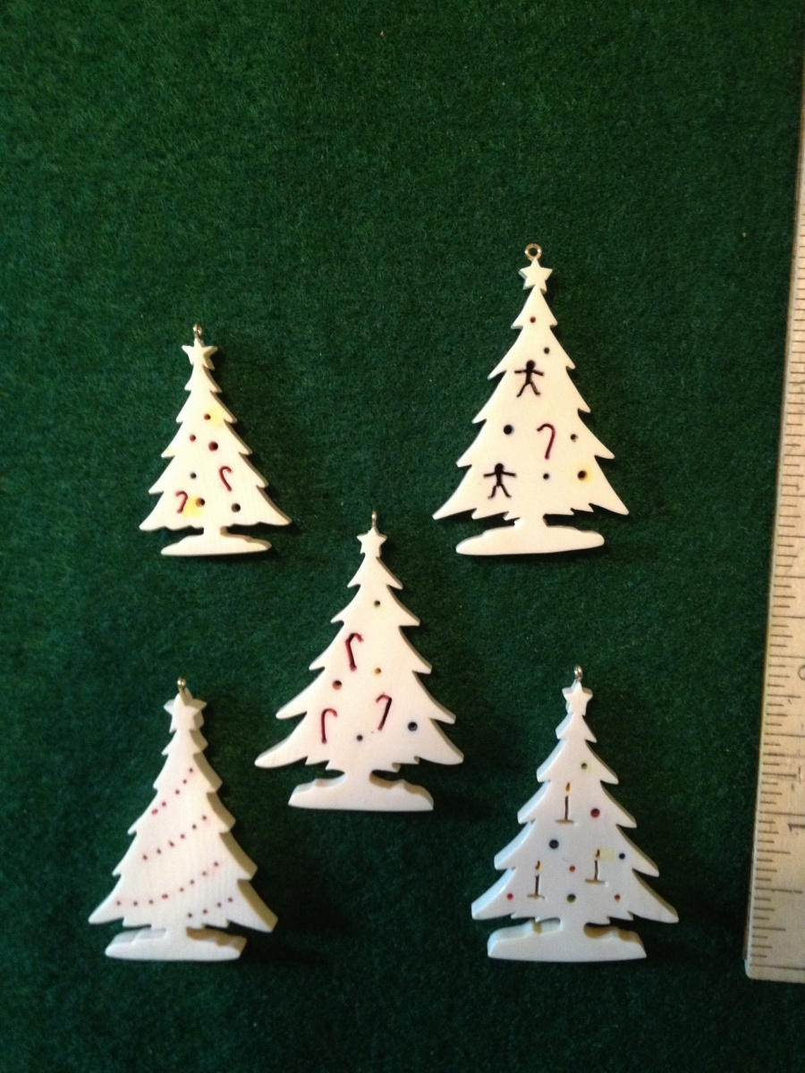 Small And Large Trees With