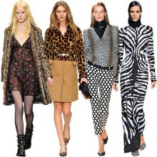 Furs and animal prints