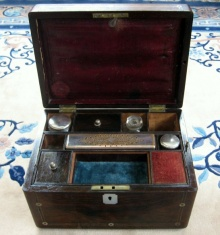 19th Century Gentleman's Traveling Toiletry Case