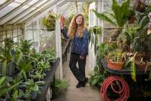 Dr. Elizabeth Farnsworth, Senior Research Ecologist with the New England Wildflower Society. Photo courtesy of the Boston Globe.