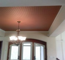 Don't forget ceilings where paper adds height to a room and the pattern is unobstructed