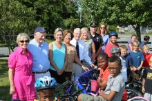 Nantucket Public Schools Bike Rack Dedication