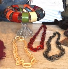 bangles and chain necklases