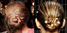 a new way with hair buns
