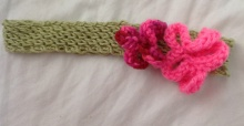 Headband horizontal view