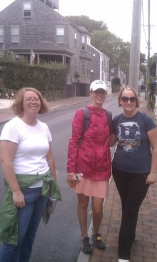 Pan Nantucket Walk for NSHA