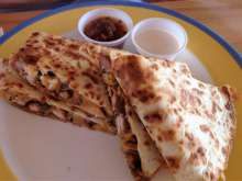 40th Pole Quesadilla