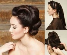 How to for long hair updo