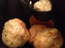 Savory biscuits at 82 Queen