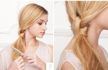 Easy side braid