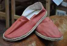 Nantucket Red Canvas Shoes at Murray's