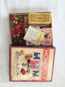Actual World War II Vintage Monopoly Game