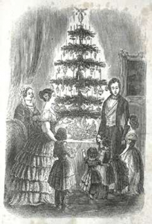 Queen Victoria and Prince Albert's Christmas Tree
