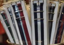 Interchangeable watch bands at Murray's