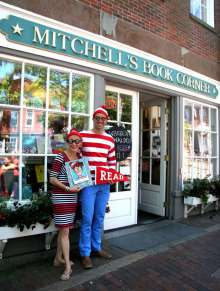 Where's Waldo? at Mitchell's Book Corner