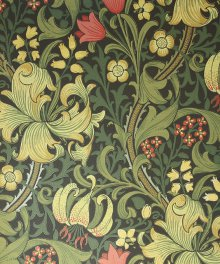 Classic William Morris Wallpaper Design