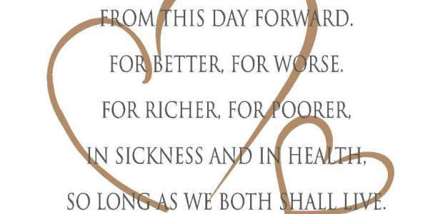 Freaky Friday For Richer Poorer In Sickness And Health But What Do These Vows Actually Mean