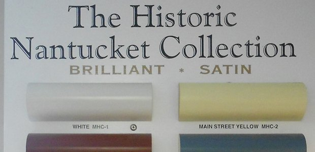 How Did Nantucket Ma Choose Their Historic Colors Nantucket Chronicle