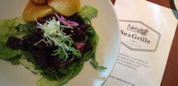 Beet Salad from Sea Grille in Nantucket