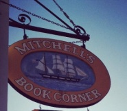 Coaching at the Corner is held upstairs at Mitchell's Book Corner, 54 Main Street, Nantucket