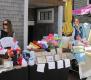 Crafts, art and locally woven goods at Sustainable Nantucket's Farmers & Artisans Market.