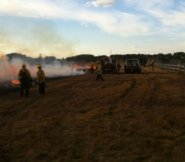 A controlled burn at Smooth Hummocks.