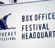 Nantucket Film Festival Box Office and Festival Headquarters Sign