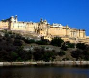 Amber fort palace outside Jaipur, India