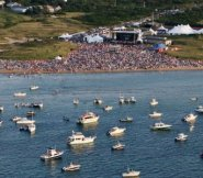 Boston Pops at Jetties, by George Rietof