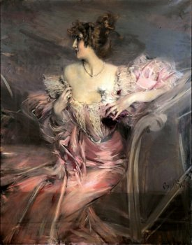 Portrait of Madame Marthe de Florian, by Giovanni Boldini, c. 1898