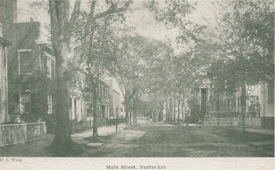 H.S. Wyer, Main Street, Nantucket