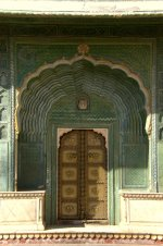 Jaipur-- Second Courtyard of the City Palace, 18th Century
