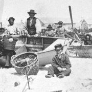 Nantucket dorymen.  Photograph courtesy of the Nantucket Historical Association.
